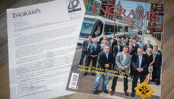 Ingram's Magazine | Kansas City's 100 Fastest-Growing Companies
