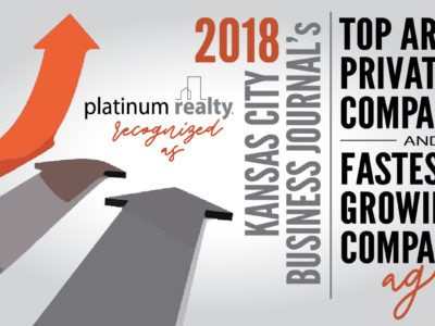Platinum Realty Recognized as Top Area Company by Kansas City Business Journal