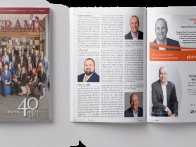 Platinum Realty Founder Scott DeNeve Named One of Ingram's 40 Under Forty